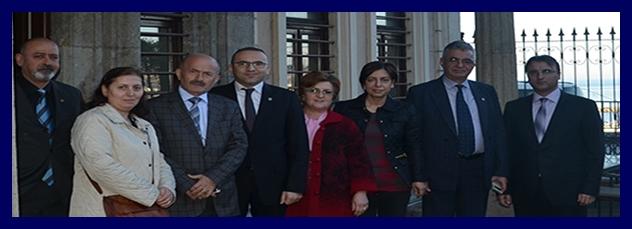 CHP Ortahisar İlçe Başkanı Av.Mehmet Recep Arslantürk'ün Baromuzu Ziyareti