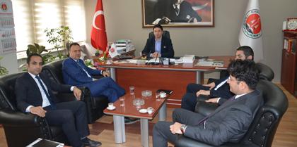Finansbank Kırıkkale Şubesi Müdürü Hakan TÜFEKÇİ Baromuzu Ziyaret Etti