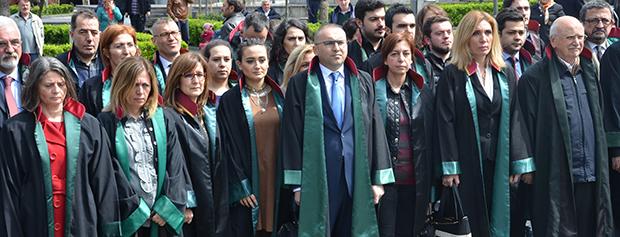 5 Nisan Avukatlar Günü Çelenk Sunma ve Basın Açıklaması