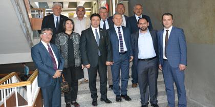 Kırıkkale Belediyesi Encümen Üyeleri Baromuzu Ziyaret Etti