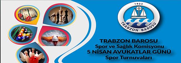 Trabzon Barosu 5 Nisan Avukatlar Günü Spor Etkinlikleri