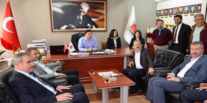 Kırıkkale Milletvekilleri Baromuzu Ziyaret Etti