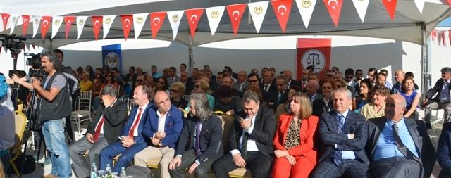 Edirne Barosu Hizmet Binası Açılış Törenine Katıldık