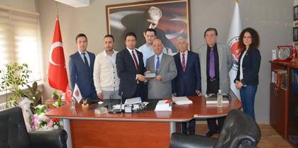 Kırıkkale Valisi Ali KOLAT'dan Baromuz'a Veda Ziyareti