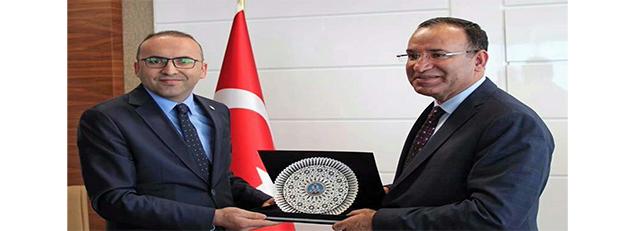 Adalet Bakanı Sayın Bekir BOZDAĞ'ın Trabzon Ziyareti