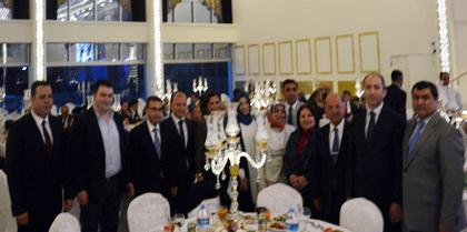 Kırıkkale Valisi Ali KOLAT' ın Veda Yemeğine Yönetim Kurulu Üyesi Av. Adnan UÇAR Katıldı