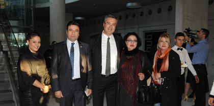 Ankara Barosu  Başkanı Av. Hakan CANDURAN' ın Seçim Start Kokteyline Baro Başkanı Av. Erol ÇAKIR ve Av. Abdullah PEKGÖZ katıldı