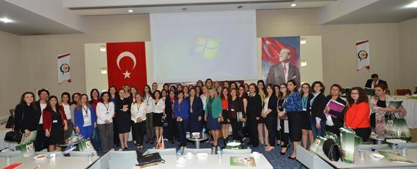 Çorum'da Tertiplenen TÜBAKKOM Genel Üye Toplantısına Kadın Hakları Komisyonu Üyelerimiz Av. Adviye ZERMAN ve Av. Esra Tuğçe TAŞ Katıldı