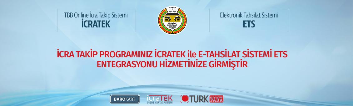 İcratek ile E-tahsilat sistemi ETS entegrasyonu hizmetinize girmiştir