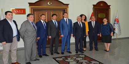 Yönetim Kurulumuz'dan Kırıkkale Valisi M. İlker HAKTANKAÇMAZ'a Tebrik Ziyareti