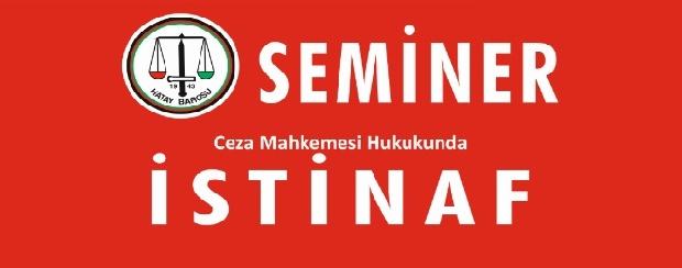 CMK İstinaf Semineri