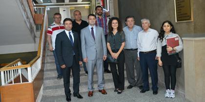 Kırıkkale Valisi M. İlker HAKTANKAÇMAZ'dan Baromuz'a İade-i Ziyaret