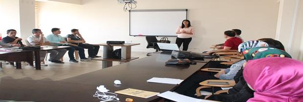 Aile ve Sosyal Politikalar İl Müdürlüğü'ndeki personellere eğitim verildi.