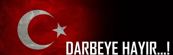 DARBELERİ VE DARBE GİRİŞİMLERİNİ LANETLİYORUZ!