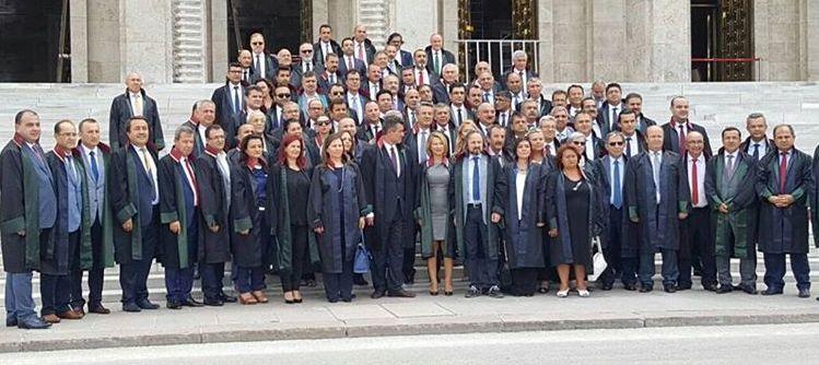 TBB Başkanı ve Baro Başkanları Türkiye Büyük Millet Meclisinde &S230;