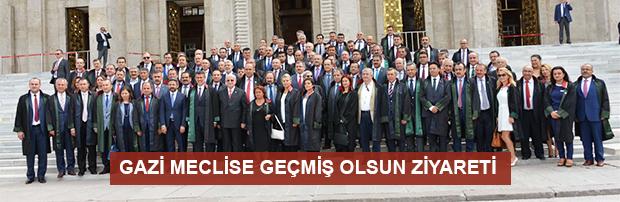 Gazi Meclise Geçmiş Olsun Ziyareti
