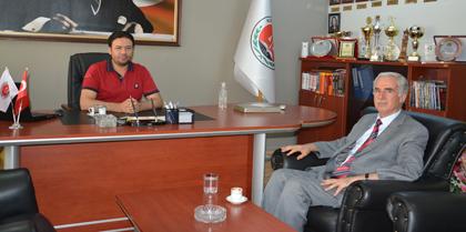 Kırıkkale Üniversitesi Rektörü Prof. Dr. Ekrem YILDIZ Baromuzu Ziyaret Etti
