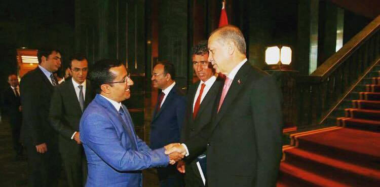 Sayın Cumhurbaşkanı'mız Recep Tayyip Erdoğan'ı ziyaret