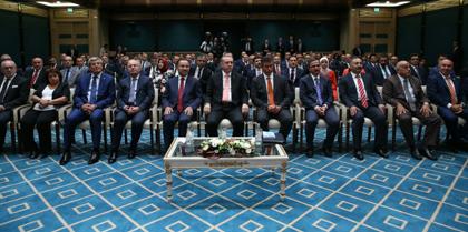 TBB Başkanı ve Baro Başkanları Hain  Darbe  Girişimine Karşı  Dayanışma Kararlılığını Göstermek İçin Sn. Cumhurbaşkanı Recep Tayyip ERDOĞAN' ı  Ziyaret Etti
