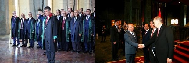 Türkiye Barolar Birliği Başkanlığı ve Baro Başkanlarından Anıtkabir ve Cumhurbaşkanı Ziyareti