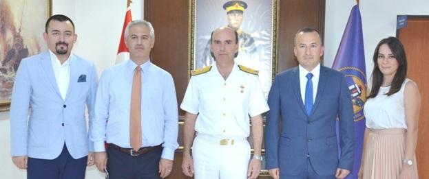 Çanakkale Boğaz ve Garnizon Komutanı'na Ziyaret