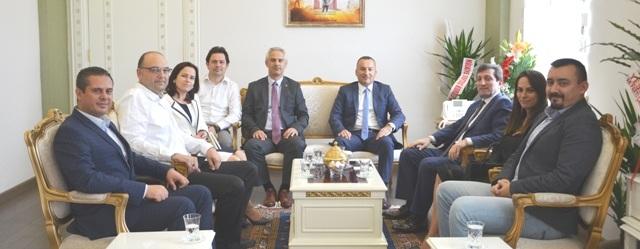 Çanakkale Valisi Orhan Tavlı'ya Ziyaret