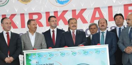 Orman ve Su İşleri Bakanı Prof.Dr.Veysel Eroğlu'nun Katılımlarıyla  Gerçekleşen, İlimizde Dokuz Tesisin Toplu Açılış ve Temel Atma Merasimine Baro Başkanı Av. Erol ÇAKIR katıldı.
