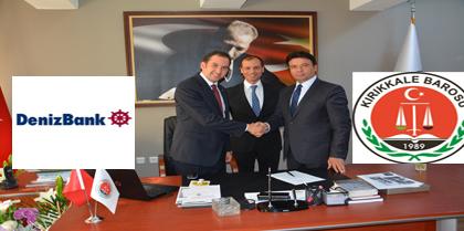 Baromuz ile Denizbank A.Ş. Kırıkkale Kurtuluş Şubesi Arasında Protokol İmzalandı