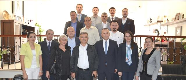AK Parti Merkez İlçe Başkanlığı'ndan Baromuza Ziyaret