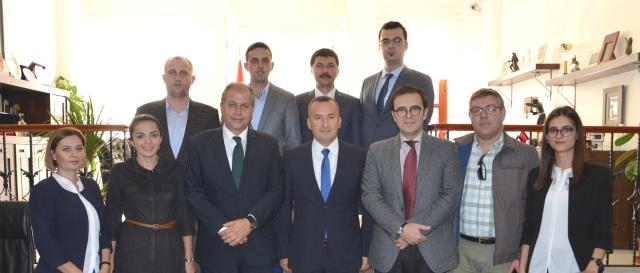 AK Parti İl Başkanlığından Baromuza Ziyaret