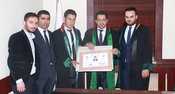 AVUKAT LOKMAN ÇETİN'E AVUKATLIK RUHSATNAMESİ VERİLMESİ HAKKINDA
