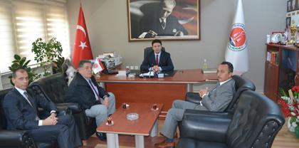 Kırıkkale Cumhuriyet Başsavcısı Kasım TÜTEN Baromuzu Ziyaret Etti