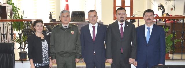 İl Jandarma Komutanı'ndan Baromuza Ziyaret