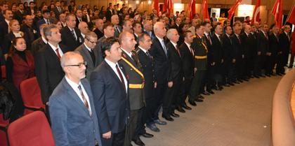 29 Ekim Cumhuriyet Bayramı kutlama programına Baro Başkanı Av. Erol ÇAKIR katıldı.