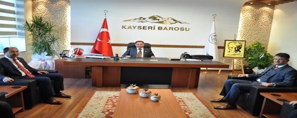 KAYSERİ SERBEST MUHASEBECİ MALİ MÜŞAVİRLER ODASINDAN BAROMUZA ZİYARET