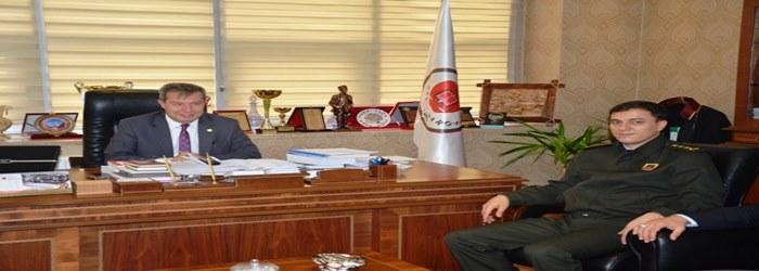 JANDARMA KOMUTANI SAYIN J. ALBAY SELAMİ AKŞİT'DEN BARO BAŞKANIMIZA ZİYARET
