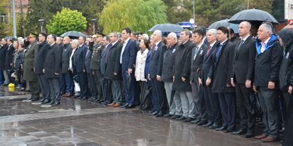 10 Kasım Atatürk'ü Anma Günü Programına Baro Başkanı Av. Erol ÇAKIR katıldı.