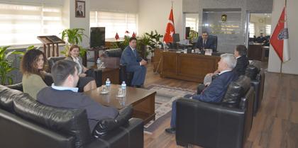 Kırıkkale Yeni Emniyet Müdürü Mahmut ÇORUMLU'ya Yönetim Kurulumuz'dan Tebrik Ziyareti