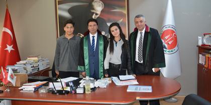 Cumhuriyet Adalet Meslek Lisesi Öğrencileri Baromuzu Ziyaret Etti
