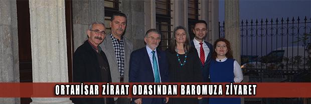 Trabzon Ortahisar Ziraat Odası'ndan Baromuza Ziyaret
