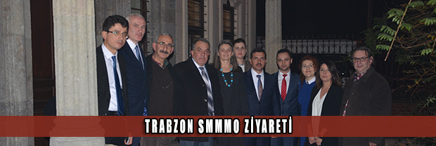 Trabzon Serbest Muhasebeci Mali Müşavirler Odası'ndan Baromuza Ziyaret