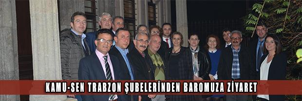Kamu-Sen Trabzon Şubelerinden Baromuza Ziyaret