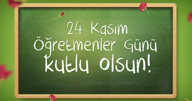 öğretmenlerimizin gününü kutluyoruz