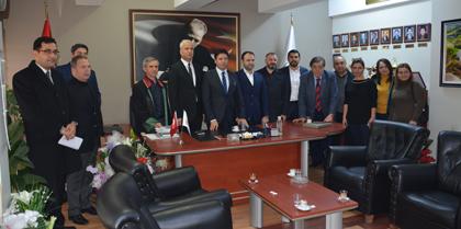 AK Parti Kırıkkale İl Teşkilatı Baromuzu Ziyaret Etti
