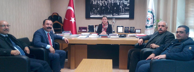 CHP Yönetiminin Ziyareti