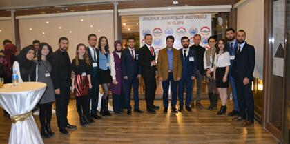 K.Ü. Genç Hukukçular Topluluğunun Hukuk Kokteyline Yönetim Kurulumuz Katıldı