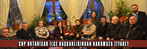 CHP Ortahisar İlçe Başkanlığı Ziyareti
