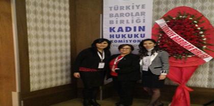 Nevşehir'de Tertiplenen TÜBAKKOM Genel Üye Toplantısına Kadın Hakları Komisyonu; Başkan Yrd.  Av. Burcu TOKGÖZ, Sekreteri Av. Esra Tuğçe TAŞ ve Üyesi Av. Adviye ZERMAN Katıldı