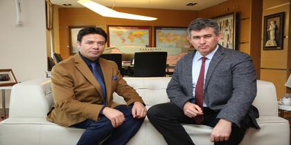 Baro Başkanı Av. Erol ÇAKIR ve Beraberindeki Bir Kısım Baromuz Avukatları TBB Başkanı Av. Metin FEYZİOĞLU'nu Ziyaret Etti