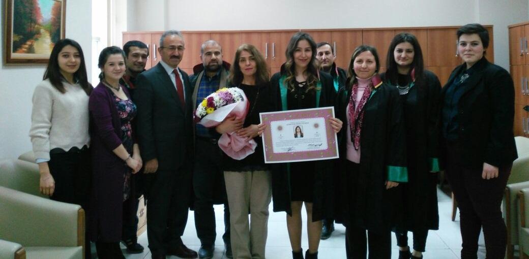 Hale Didem Badak'ın Yemin Töreni